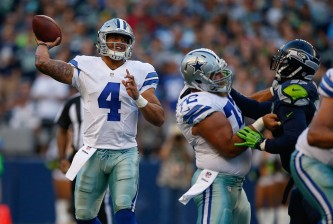 Dallas Cowboys v Seattle Seahawks