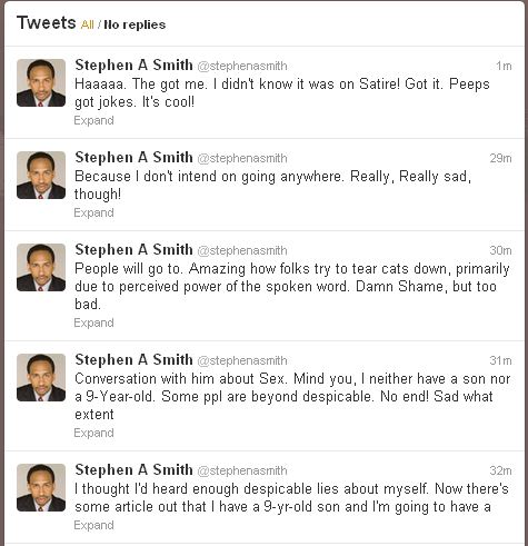 Stephen A Smith Is Legitimately Incredulous Over Onion Satire Article