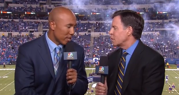 66d981c58 Hines Ward has the best and most pointless job in all of television
