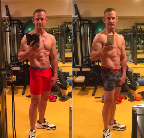 Merril Hoge Is Incredibly Ripped Even After Heart Surgery