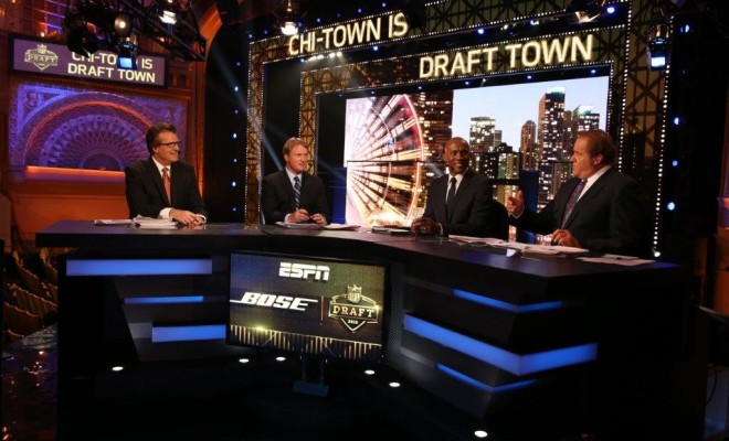 Espn S Cast Of Characters Back For Nfl Draft Including