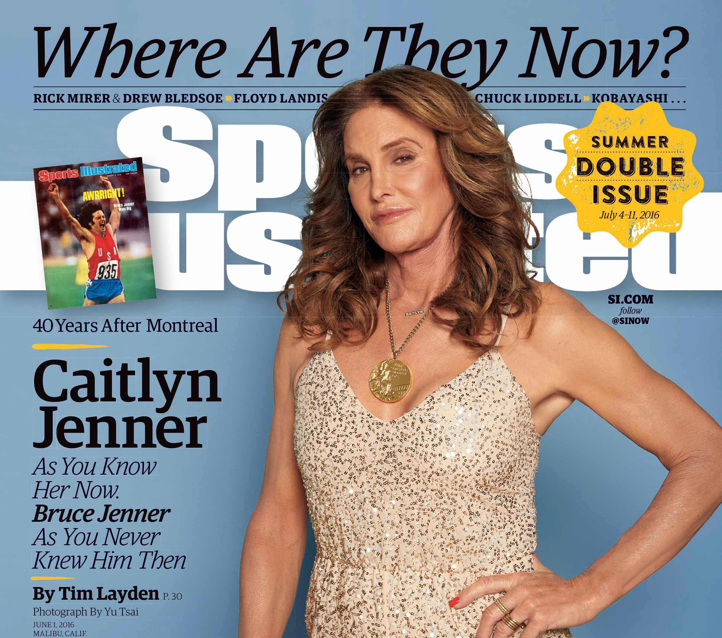 Caitlyn Jenner Poses Nude on Sports Illustrated Cover