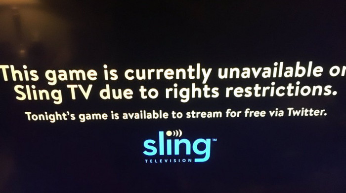 Surprise! Thursday Night Football not available for streaming on
