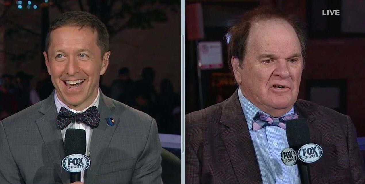 Pete Rose gives job advice to ...
