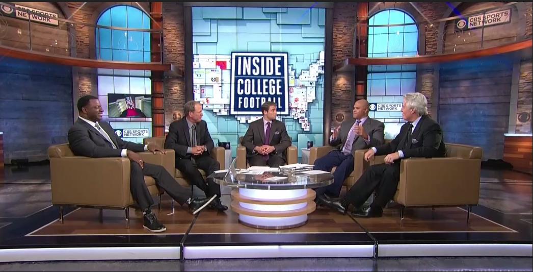 CBS Sports Network's Inside College Football debates new CFP