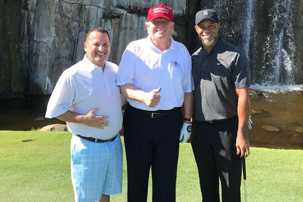 76d4b949 Golf Digest takes credit for the Tiger-Trump story, 36 hours after it was  reported elsewhere