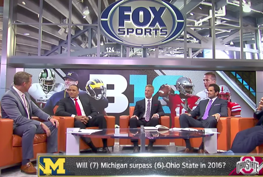 Excellent Ohio State Michigan Is Officially On Fox And Both Coaches Gmtry Best Dining Table And Chair Ideas Images Gmtryco