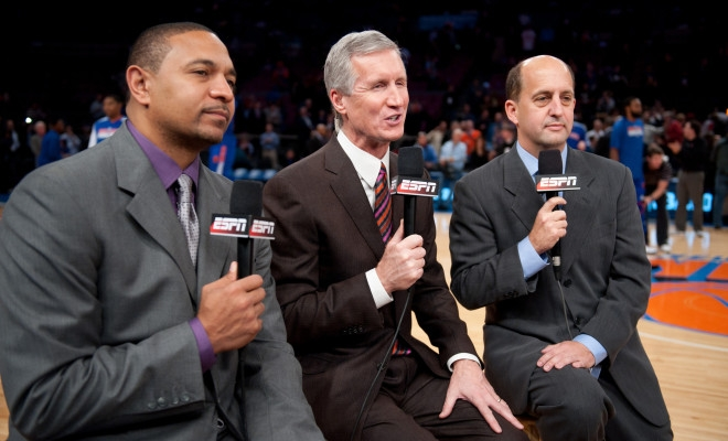 Nba Will Reportedly Have Most National Announcers Calling Games On Site