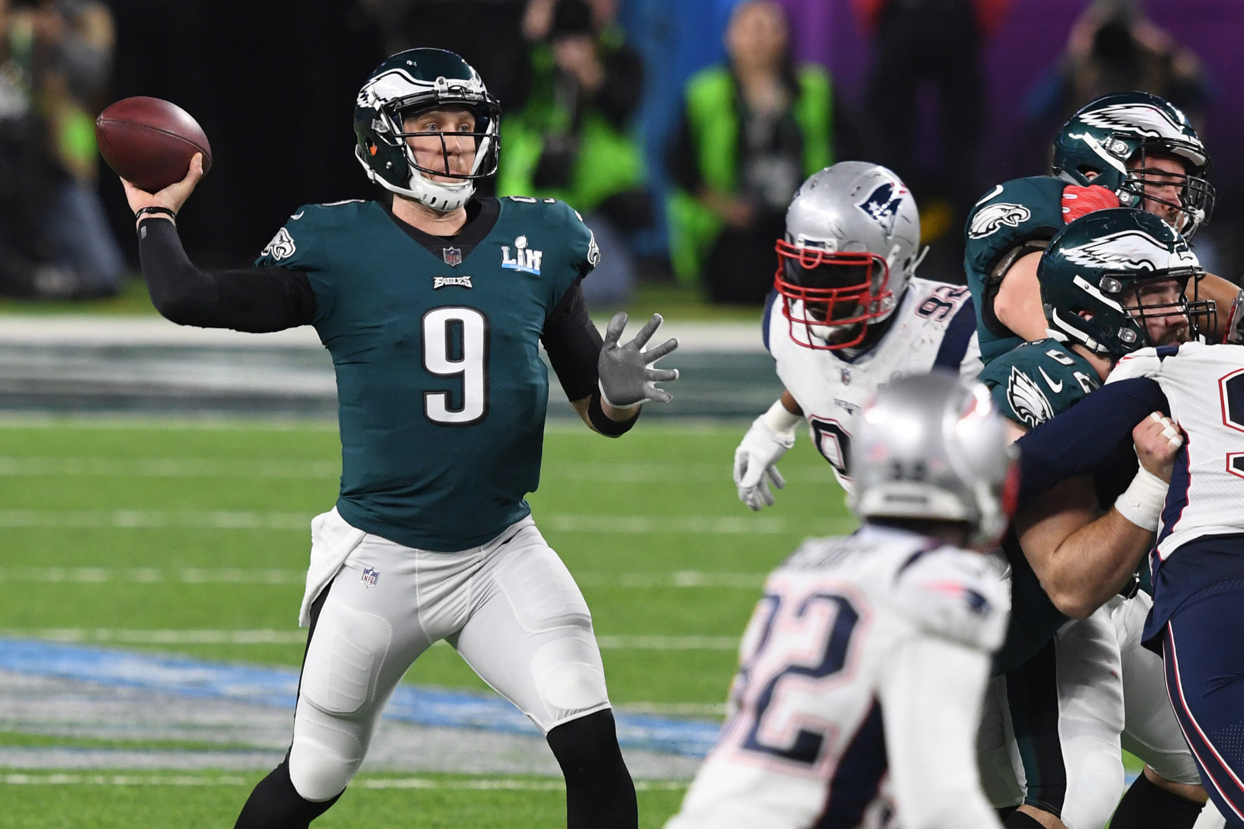 super bowl ratings-eagles patriots-nick foles