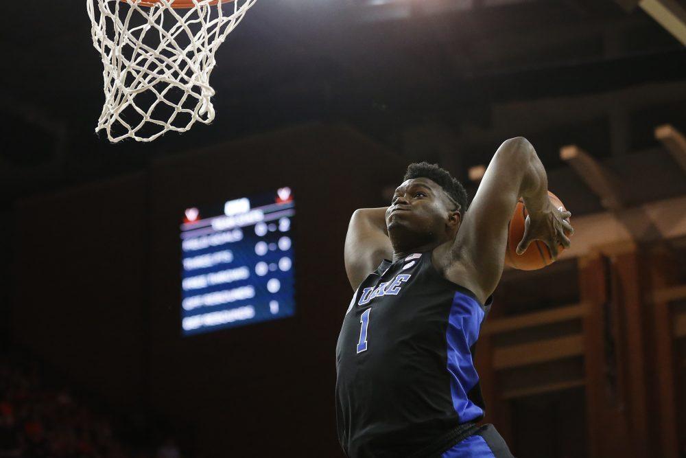 The heavy sports media coverage of Zion Williamson and Duke