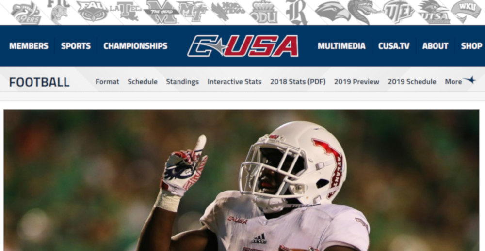 NFL Network is back in the college football game, signing a four-year deal with Conference USA