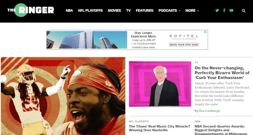 Spotify Is Reportedly In Early Talks To Buy The Ringer